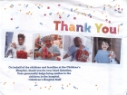 Thank You! card from the Children's Hospital